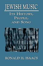 Jewish music : its history, people, and song