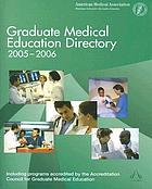 Graduate medical education directory 2005-2006