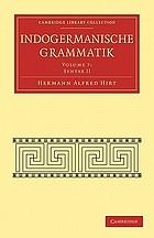Indogermanische Grammatik