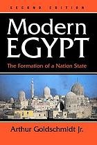Modern Egypt : the formation of a nation-state