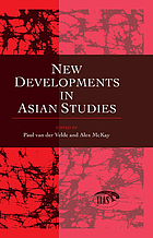 New developments in Asian studies : an introduction