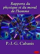 Rapports du physique et du moral de l'homme