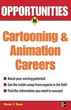 Opportunities in cartooning and animation careers