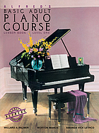 Alfred's basic adult piano course : lesson book
