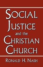 Social justice and the Christian church