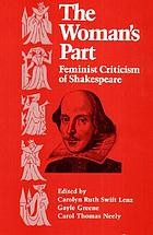 The Woman's part : feminist criticism of Shakespeare
