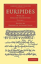 Euripides : with an English commentary