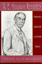 A.E. Housman revisited