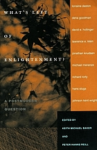 What's left of Enlightenment? : a postmodern question