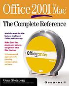 Office 2001 for Mac : the complete reference