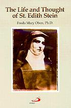 The life and thought of St. Edith Stein