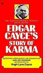 Edgar Cayce's story of karma; God's book of remembrance