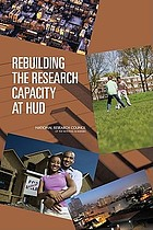 Rebuilding the research capacity at HUD