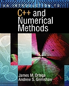 An introduction to C++ and numerical methods