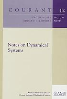 Notes on dynamical systems