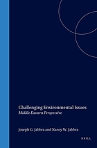Challenging environmental issues : Middle Eastern perspectives