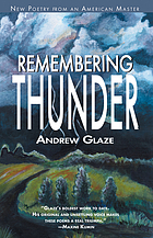 Remembering thunder : poems