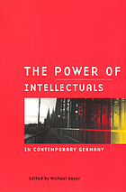 The power of intellectuals in contemporary Germany
