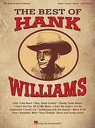 The best of Hank Williams : piano, vocal, guitar