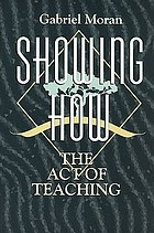 Showing how : the act of teaching