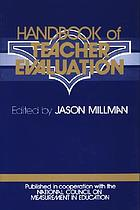 Handbook of teacher evaluation