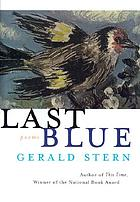 Last blue : poems