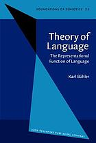 Theory of language the representational function of language