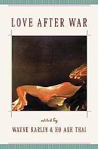 Love after war : contemporary fiction from Viet Nam