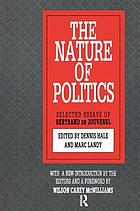 The Nature of politics : selected essays of Bertrand de Jouvenel