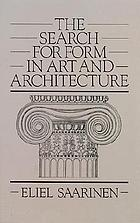 The search for form in art and architecture