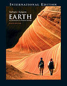 The earth : an introduction to physical geology