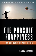 The pursuit of happiness : an economy of well-being