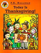 Today is Thanksgiving!