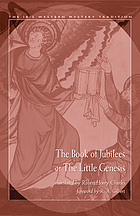 The Book of Jubilees, or, The little Genesis