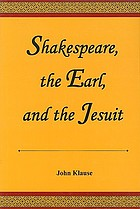 Shakespeare, the Earl, and the Jesuit