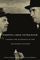 Parties long estranged Canada and Australia in the twentieth century