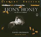 Lion's honey the myth of Samson