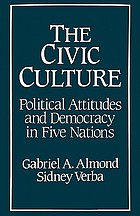 The civic culture : political attitudes and democracy in five nationsThe Civic culture revisited