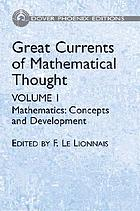 Great currents of mathematical thought