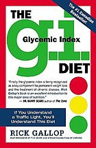 The G.I. (glycemic index) diet : the easy, healthy way to permanent weight loss