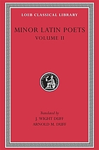 Minor Latin poets : in two volumes