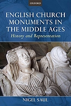 English church monuments in the Middle Ages : history and representation