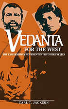 Vedanta for the West : the Ramakrishna movement in the United States
