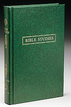 Bible studies: contributions, chiefly from papyri and inscriptions, to the history of the language, the literature, and the religion of Hellenistic Judaism and primitive Christianity
