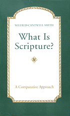 What is scripture? : a comparative approach