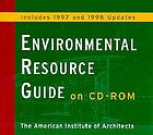 Environmental resource guide on CD-ROM includes 1997 and 1998 updates