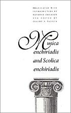 Musica enchiriadis ; and, Scolica enchiriadis