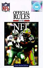 The Official rules of the NFL
