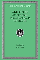 On the soul ; Parva naturalia ; On breath
