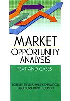Market opportunity analysis : text and cases